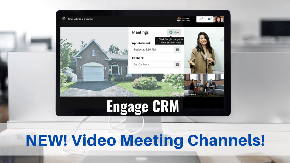 New - Video Meeting Channels in EngageCE